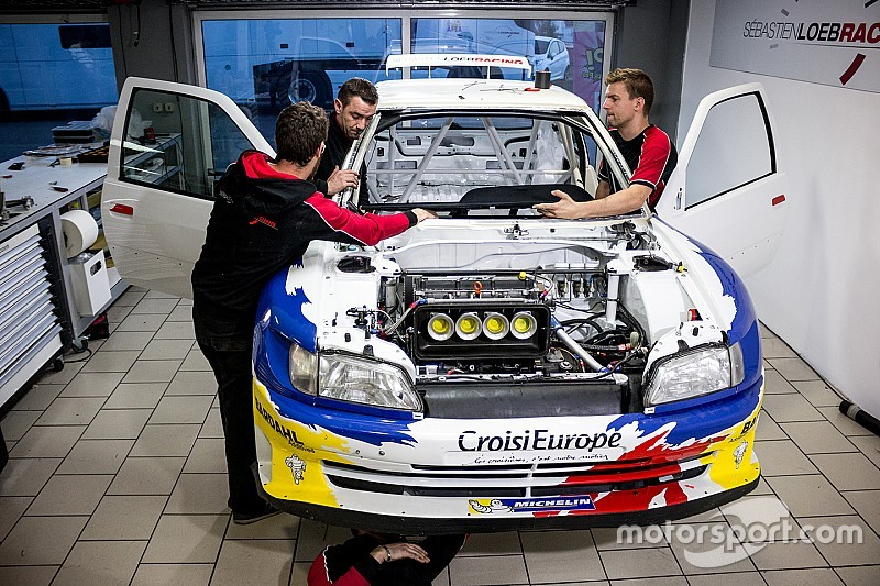 Loeb\'s race against time to rebuild the Peugeot 306 Maxi