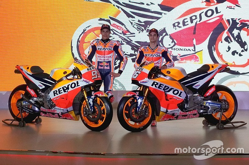 Honda presenteert MotoGP-machine voor 2018