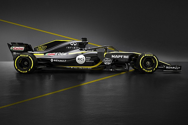 Renault tampilkan mobil penantang F1 2018, RS18