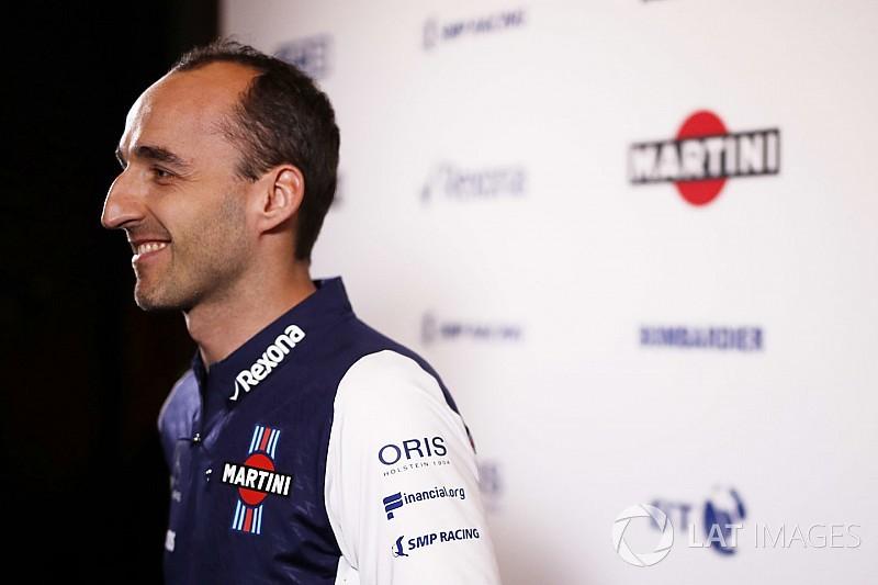Kubica vasárnap debütál a 2018-as Williams volánja mögött
