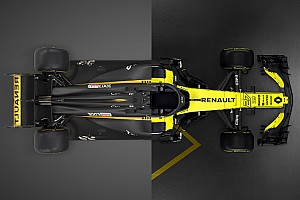 Comparativa entre el Renault RS17 y el nuevo RS18