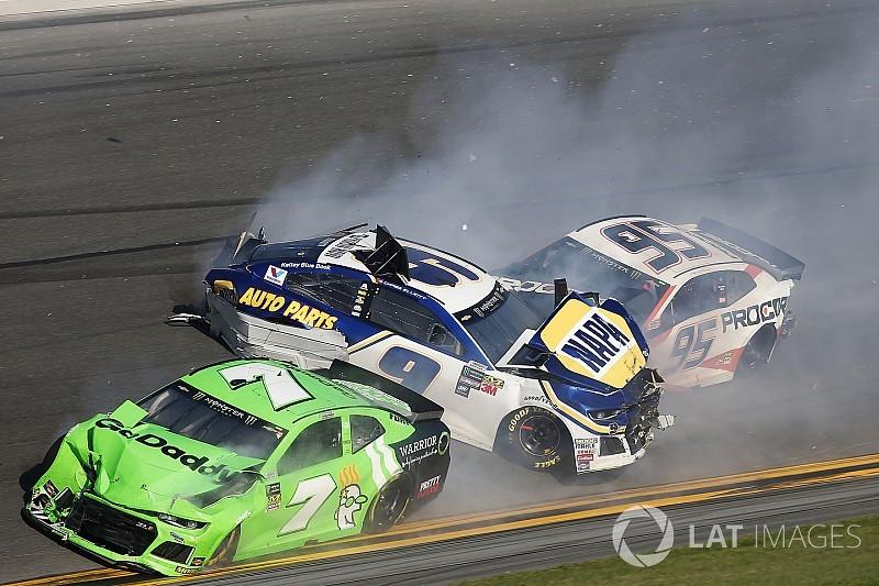Daytona 500: Danica Patrick's final NASCAR race comes to an abrupt end