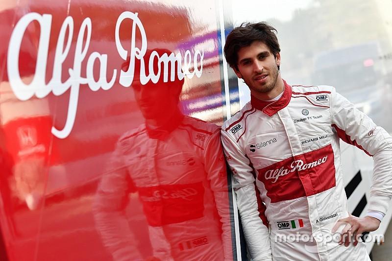 Sauber confirma Giovinazzi ao lado de Raikkonen em 2019