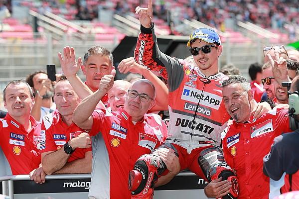 MotoGP 予選レポート カタルニア予選:ロレンソがドゥカティ初PP! 中上ベストタイ12番手
