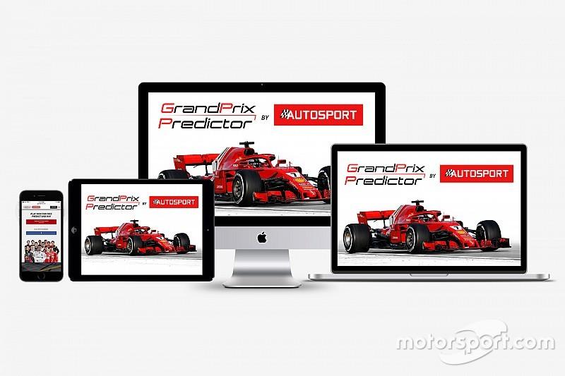 Schrijf je nu in voor de vernieuwde Grand Prix Predictor!