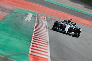 Fórmula 1 Crónica de test Mercedes arrebata a McLaren el liderato en la segunda mañana de test