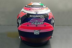 Fórmula 1 Noticias VIDEO: Sergio Pérez muestra su nuevo casco de F1