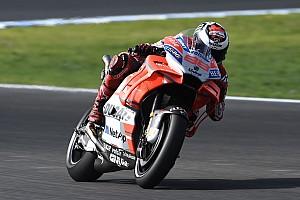 MotoGP Interjú Lorenzo boldogabb a fejlesztett Ducatin