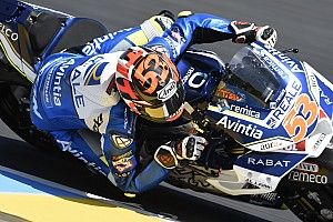 MotoGP Últimas notícias VÍDEO: Rabat cai, moto pega fogo e piloto vai a hospital