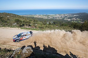 WRC Leg report Portugal WRC: Neuville leads amid afternoon shake-up