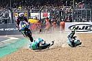 Kornfeil come Cairoli a Le Mans: fa un salto da motocross con la Moto3!