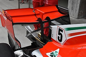 Formula 1 Analisi Ferrari: ecco l'ala a cucchiaio provata per l'Azerbaijan