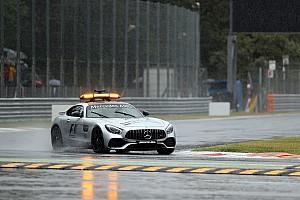Formel 1 Trainingsbericht Formel 1 2017 in Monza: Nur eine Viertelstunde Regentraining