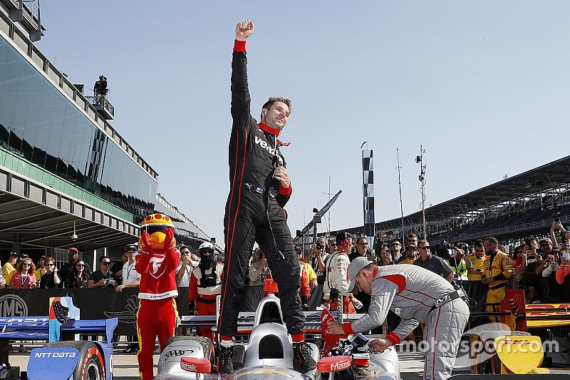 Indy GP: Power masters IMS road course, scores 30th win