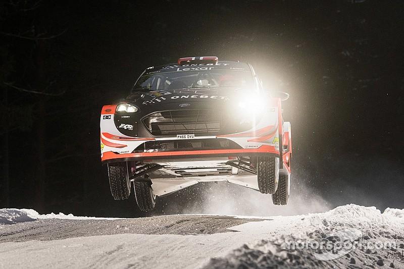 Ostberg debuta en el WRC 2017 dominando el shakedown de Suecia