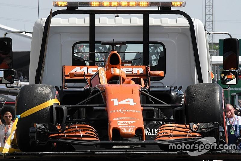 """McLaren: """"Difícil encontrar palabras para expresar nuestra decepción"""""""