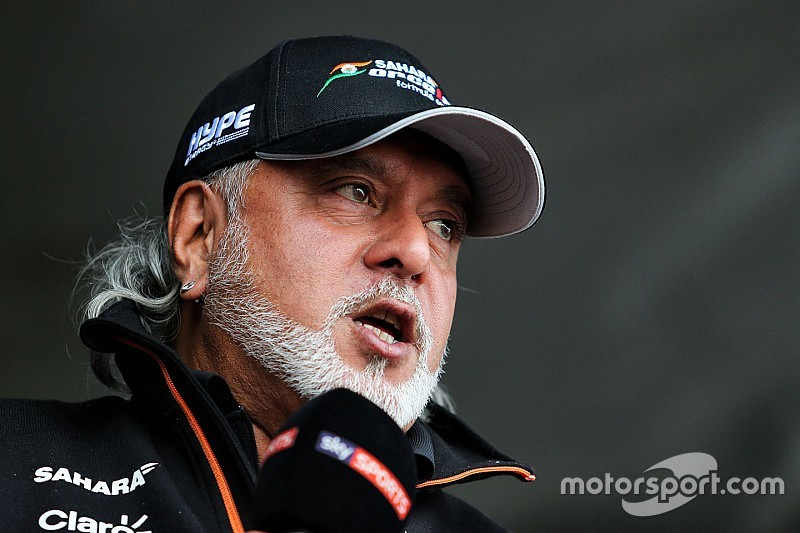 Mallya deixa cargo de diretor da Force India