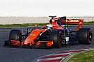 Формула 1 McLaren поменяла двигатель Honda после одного круга