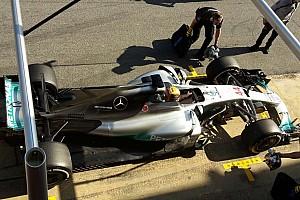 F1 Análisis Análisis técnico: Mercedes busca refrigerar el W08