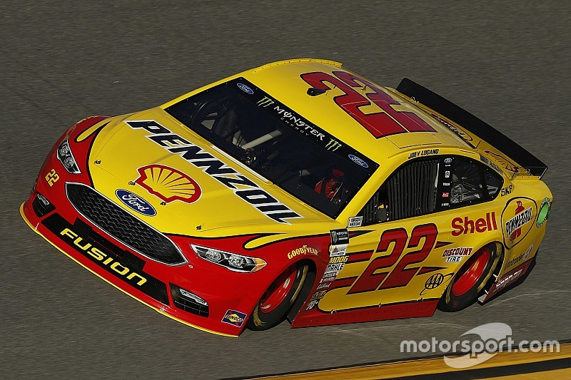 Logano and Ford top Daytona 500 qualifying practice