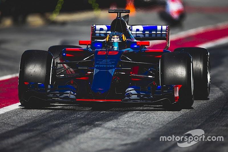 "Fin d'une semaine ""encourageante et frustrante"" pour Toro Rosso"