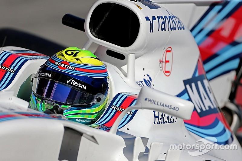 Massa espère que Williams n'aura plus de problèmes de roulage