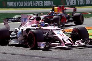 """F1 Noticias de última hora Pérez: """"Tuvimos un gran ritmo de carrera"""""""