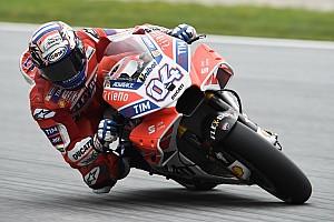MotoGP Nieuws Dagsnelste Dovizioso: