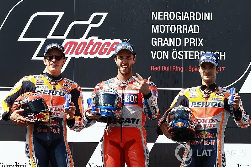 Spielberg MotoGP: Dovi-Marquez mücadelesinden Dovizioso galip çıktı!
