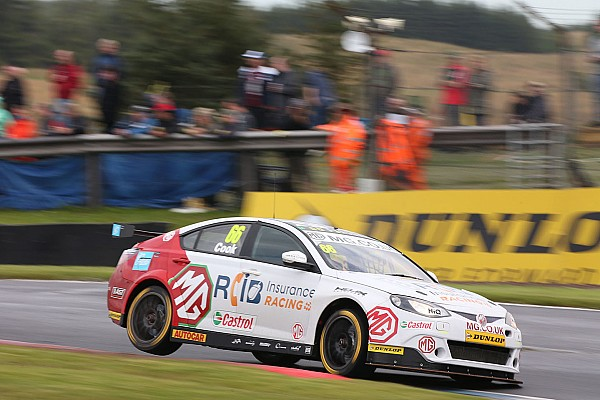 BTCC Cook gets race ban after Rockingham BTCC clashes