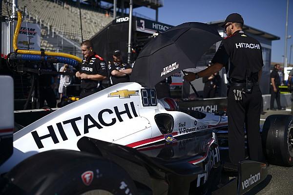 IndyCar 速報ニュース 日立、ペンスキーのスポンサーを継続。ニューガーデンのマシンにロゴ