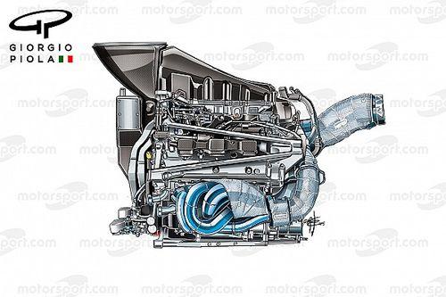 【F1】ホンダ、パワーユニット一新でメルセデス式のレイアウトへ