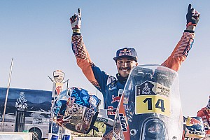 "Dakar Breaking news Sunderland ""cried like a wimp"" after clinching Dakar title"