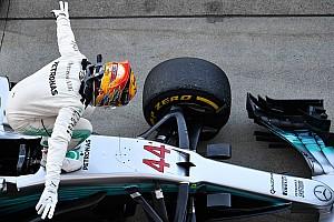 Formule 1 Contenu spécial L'histoire derrière la photo - Hamilton ressent les vibrations de Suzuka