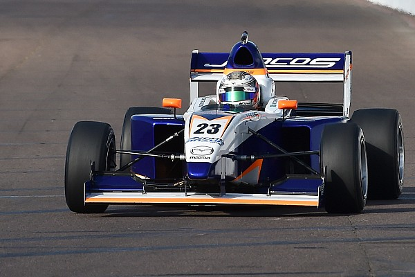 Pro Mazda Indy GP Pro Mazda: Franzoni takes dominant pole