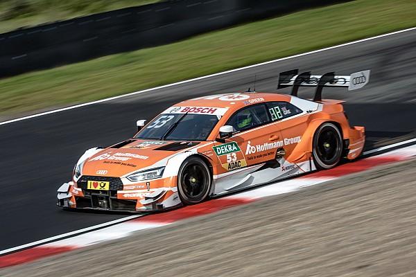 DTM Prove libere Zandvoort, Libere 2: Green guida la tripletta Audi