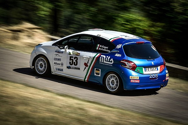 Peugeot Competition Rally 208: quattro piloti ancora in lizza in Valtellina