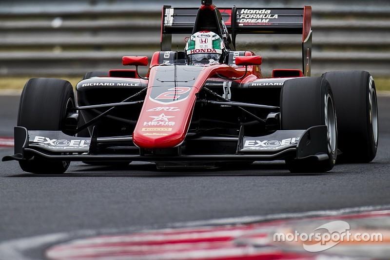 【GP3】ハンガロリンクテスト2日目:福住首位。チームはトップ3独占