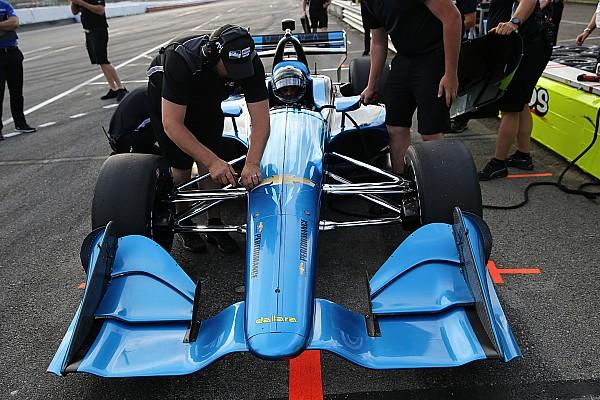 Montoya, Servia impressed by 2018 IndyCar short-oval setup