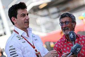 "Fórmula 1 Noticias Jordan debe parar de repetir ""noticias falsas"" sobre Mercedes, según Wolff"