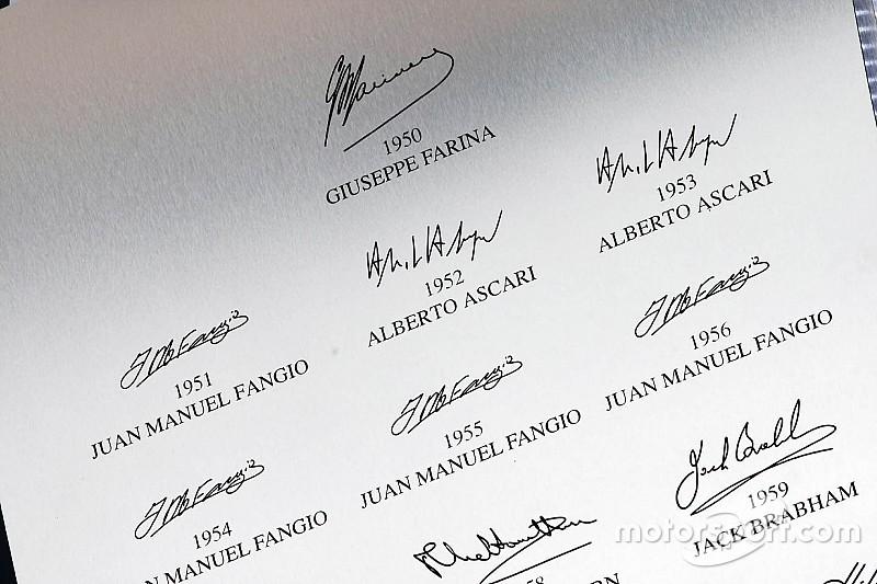 Todos los títulos, campeones y mundiales de la historia de la Fórmula 1