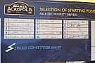 Acropoli, ecco l'ordine di partenza della Prima Tappa