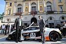 La McLaren di Alex Fontana nel cuore di Lugano!