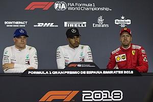 Formula 1 Press conference Spanish GP: Post-qualifying press conference
