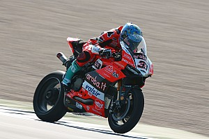Superbike-WM News Melandris Fahrwerks-Schwingungen: