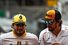 Sainz: Replacing Alonso