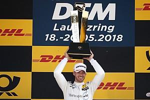 DTM Crónica de Carrera Mortara gana una accidentada carrera en Lausitz
