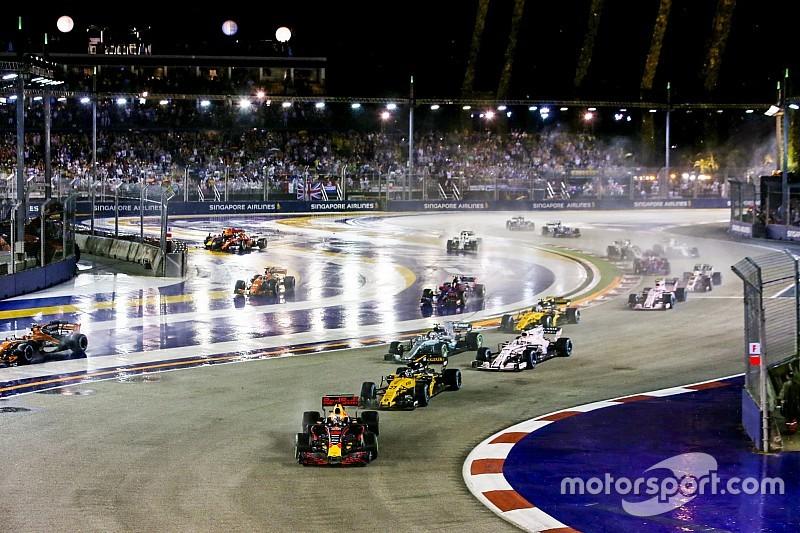 Formel 1 Singapur 2018: Programm Live-TV und Live-Stream