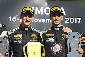 Lamborghini Super Trofeo Intervista Video: Agostini racconta la vittoria in Gara 1 nella Finale PRO/PRO-AM