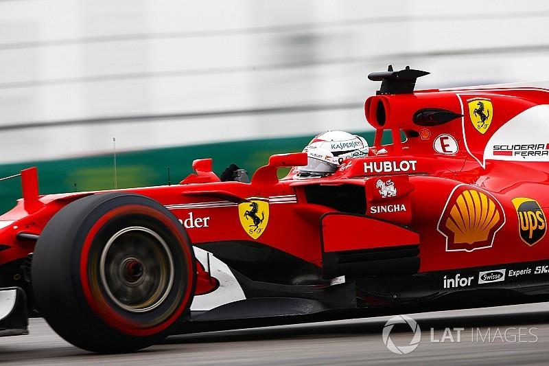 """Vettel verliest waardevolle tijd door spin: """"Mijn fout"""""""